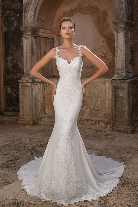 88046 Wedding                                          dress by Justin Alexander