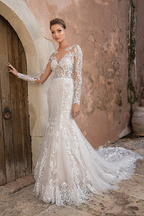 88049 Wedding                                          dress by Justin Alexander