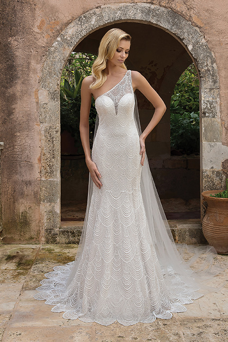 88057 Wedding                                          dress by Justin Alexander