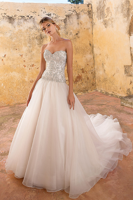 88061 Wedding                                          dress by Justin Alexander