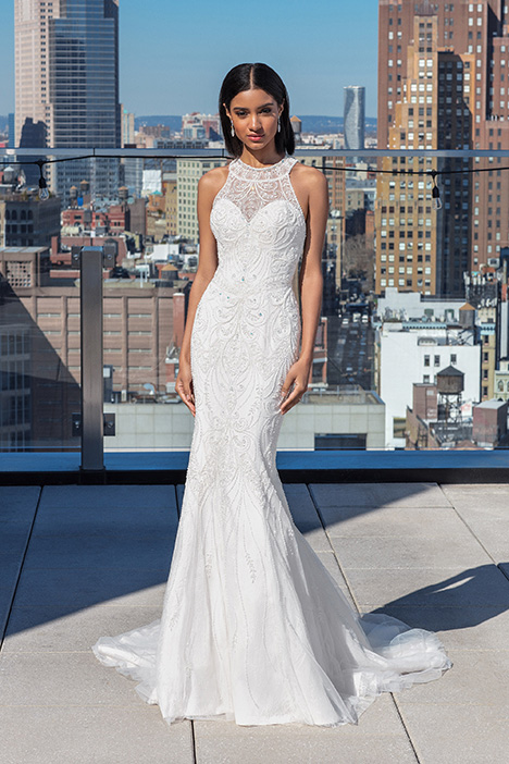99026 Wedding                                          dress by Justin Alexander Signature
