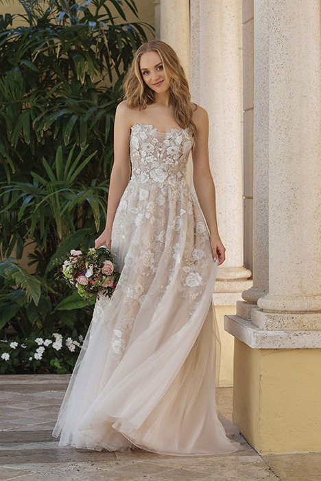 44073 (Blush) Wedding                                          dress by Sincerity