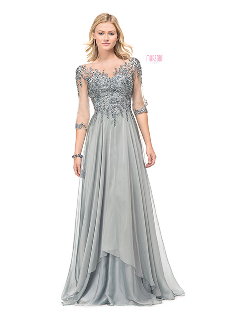M102SV Bridesmaids                                      dress by Marsoni by Colors