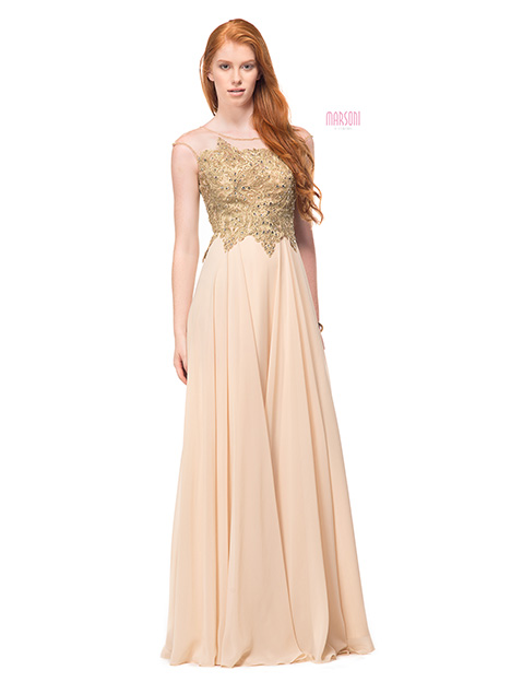 M107CH Bridesmaids                                      dress by Marsoni by Colors
