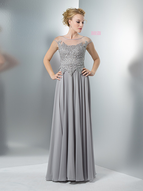 M107GR Bridesmaids                                      dress by Marsoni by Colors