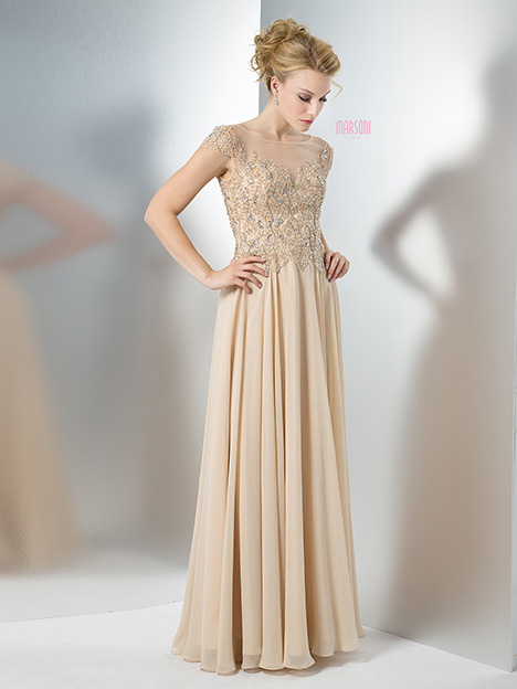 M108CH Bridesmaids                                      dress by Marsoni by Colors