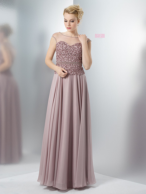 M109SV Bridesmaids                                      dress by Marsoni by Colors