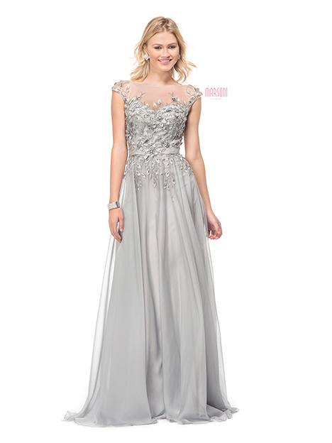 M116SV Bridesmaids                                      dress by Marsoni by Colors