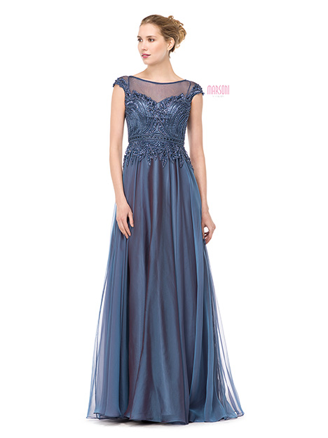 M166SLB Bridesmaids                                      dress by Marsoni by Colors