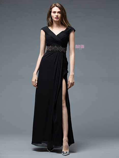 M169BK Bridesmaids                                      dress by Marsoni by Colors