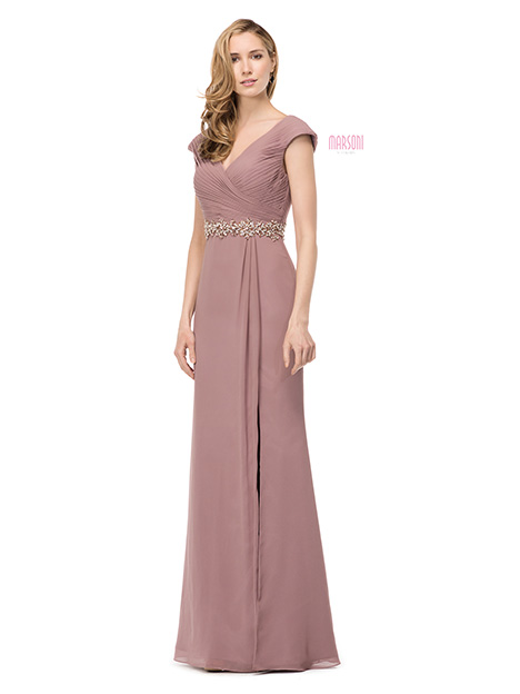 M169TP Bridesmaids                                      dress by Marsoni by Colors