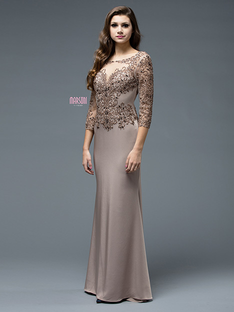M188TP Bridesmaids                                      dress by Marsoni by Colors