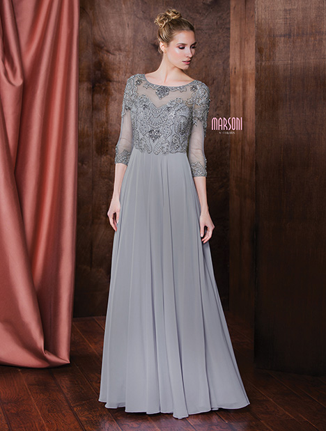 M189 gown from the 2018 Marsoni by Colors collection, as seen on dressfinder.ca