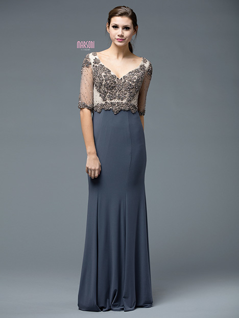 M192PE gown from the 2018 Marsoni by Colors collection, as seen on dressfinder.ca
