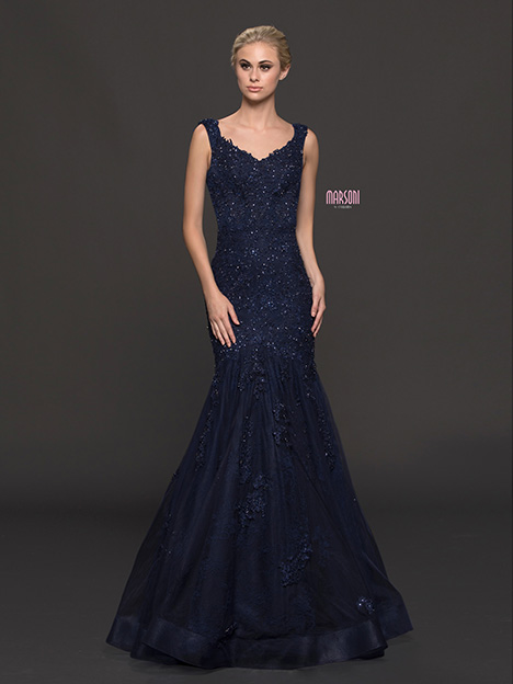 M215 gown from the 2018 Marsoni by Colors collection, as seen on dressfinder.ca