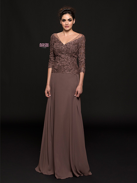 M226 gown from the 2018 Marsoni by Colors collection, as seen on dressfinder.ca