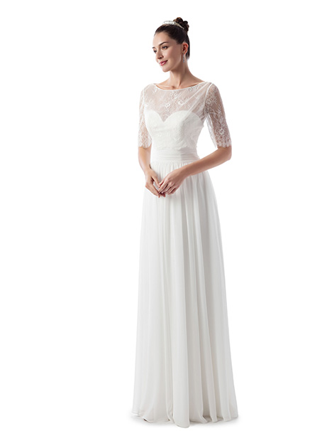 VN6960 Wedding                                          dress by Venus Informal