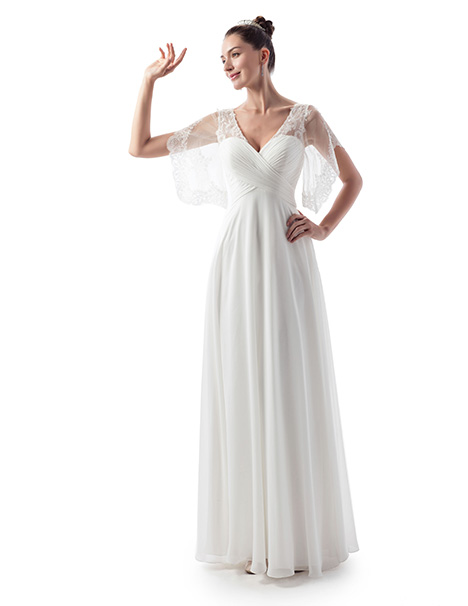 VN6963 Wedding                                          dress by Venus Informal