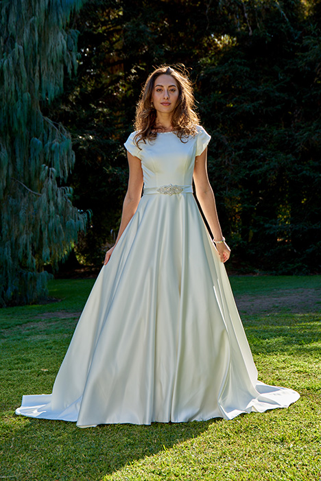 TB7758 Wedding                                          dress by Venus Modest
