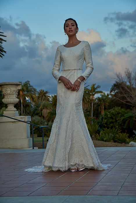 TB7763 Wedding                                          dress by Venus Modest