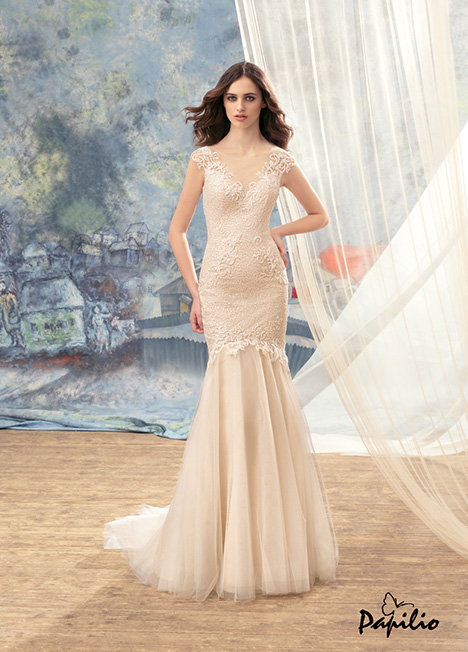 1710L gown from the 2017 Papilio Bridal collection, as seen on dressfinder.ca