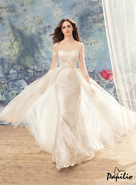 1715 gown from the 2017 Papilio Bridal collection, as seen on dressfinder.ca