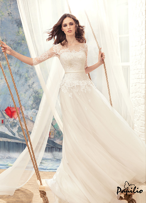 1716 Wedding                                          dress by Papilio Bridal