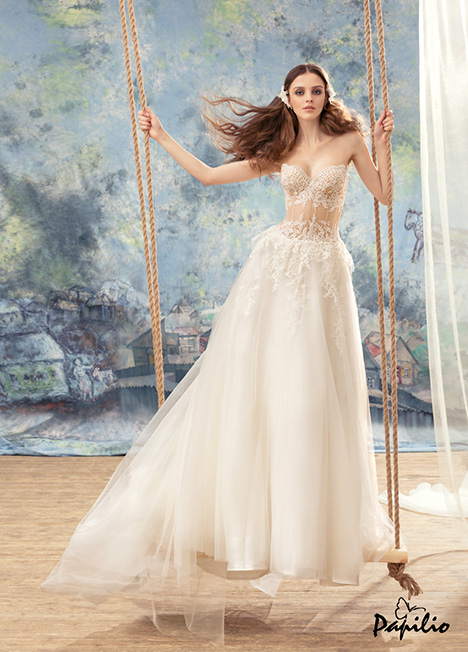 1737 gown from the 2017 Papilio Bridal collection, as seen on dressfinder.ca