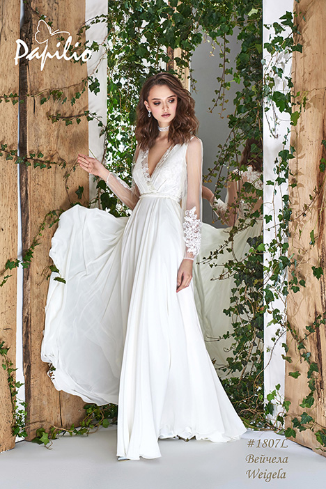 1807L- gown from the 2018 Papilio Bridal collection, as seen on dressfinder.ca