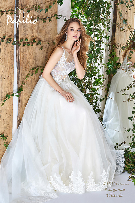 1816L Wedding                                          dress by Papilio Bridal