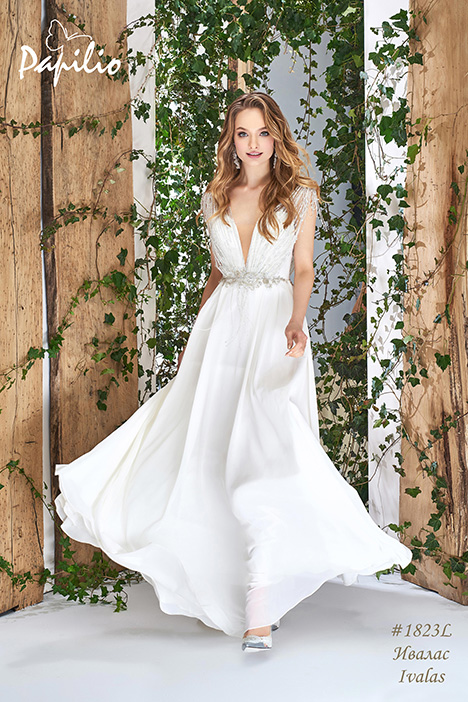 1823L Wedding                                          dress by Papilio Bridal