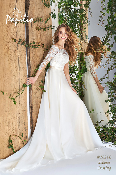 1824L Wedding                                          dress by Papilio Bridal