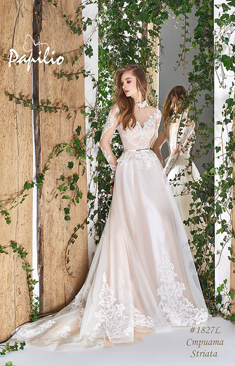 1827L Wedding                                          dress by Papilio Bridal
