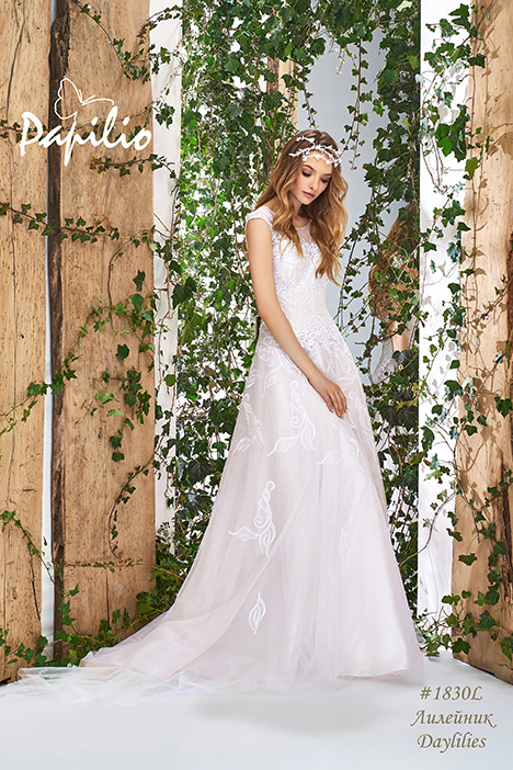 1830 Wedding                                          dress by Papilio Bridal