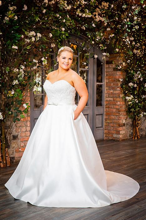 bb19517 Wedding                                          dress by Beautiful Brides Plus