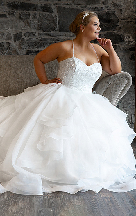 BBP19520 Wedding                                          dress by Bridalane: Beautiful Brides Plus
