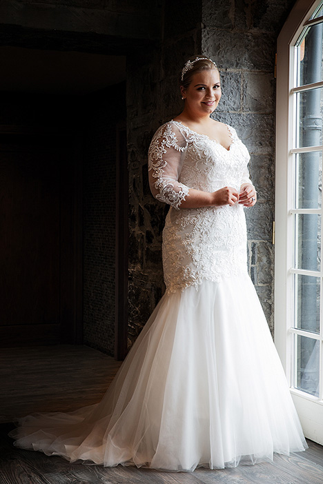 BBP19524 Wedding                                          dress by Bridalane: Beautiful Brides Plus