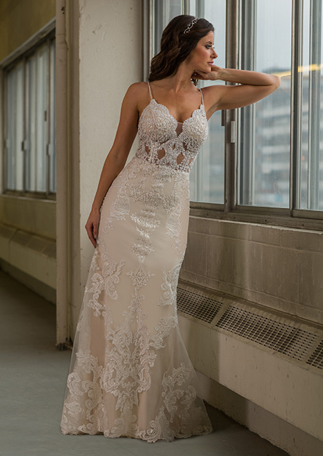 gp1104 Wedding                                          dress by Grace by Bridalane