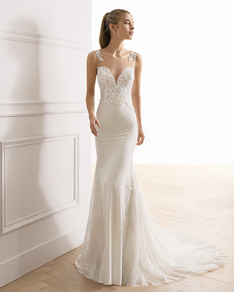 EDELINE Wedding                                          dress by Aire Barcelona Bridal