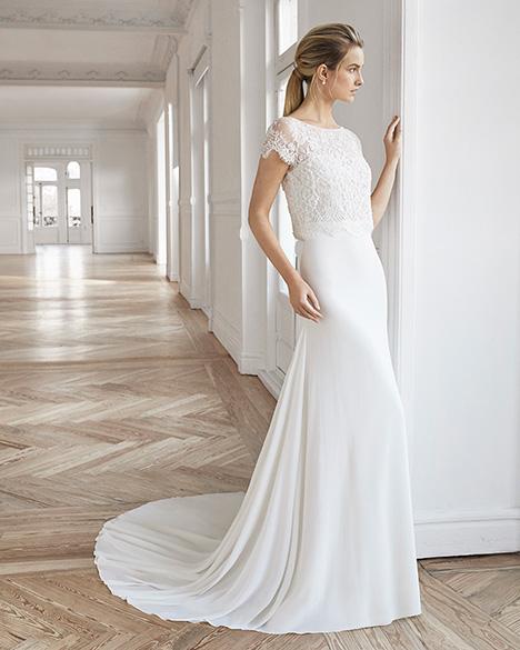 EDIMBURGO Wedding                                          dress by Aire Barcelona Bridal