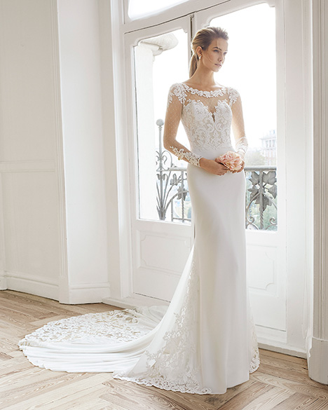 EDMOND Wedding                                          dress by Aire Barcelona Bridal