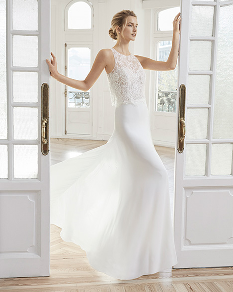 EDORA Wedding                                          dress by Aire Barcelona Bridal