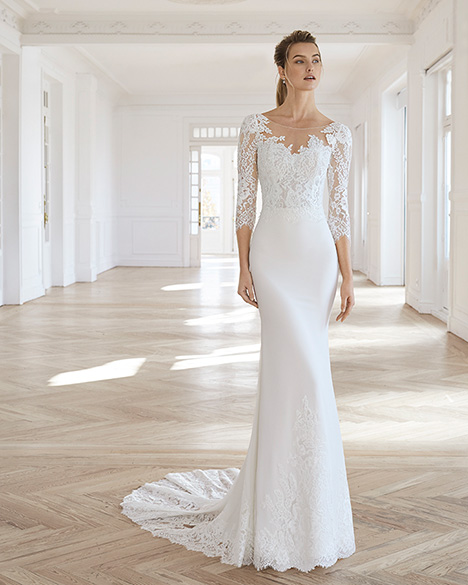 EDURNE Wedding dress by Aire Barcelona Bridal