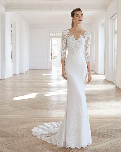EDURNE Wedding                                          dress by Aire Barcelona Bridal