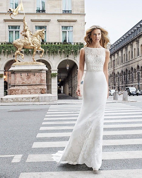 EISHA Wedding                                          dress by Aire Barcelona Bridal