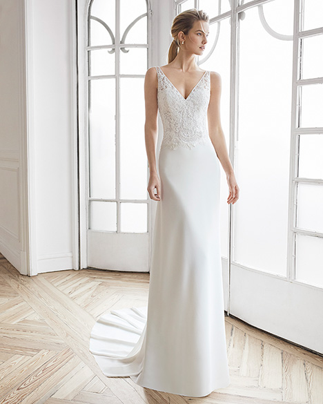 ELDORA Wedding                                          dress by Aire Barcelona Bridal