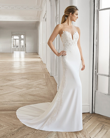 ELEAZAR Wedding                                          dress by Aire Barcelona Bridal
