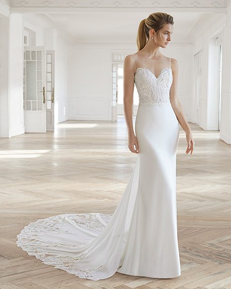 ELEONOR Wedding                                          dress by Aire Barcelona Bridal