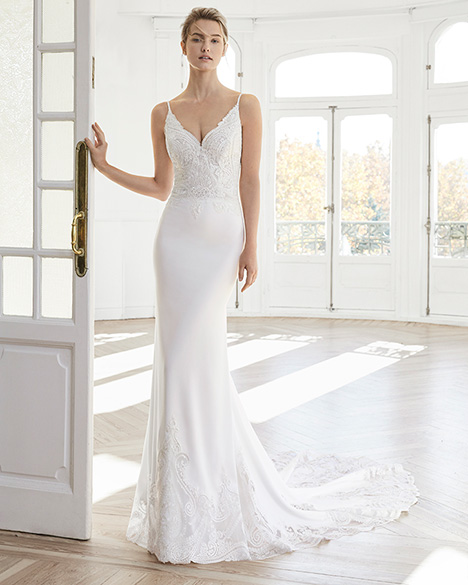 ELGA Wedding                                          dress by Aire Barcelona Bridal