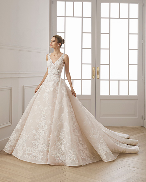 ESTHER Wedding                                          dress by Aire Barcelona Bridal
